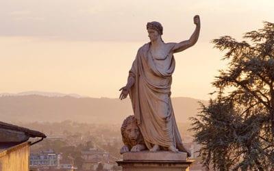 Il monumento a Ferdinando III di Lorena