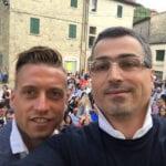Emanuele Giaccherini e Francesco Caremani, Talla (AR) luglio 2016