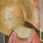 Particolare Maria Annunciazione Beato Angelico